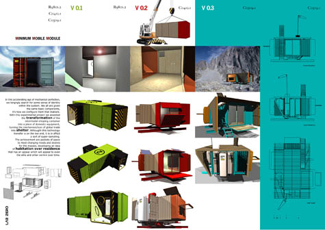 Mobile minimalism bldgblog - Mobile shipping container homes ...