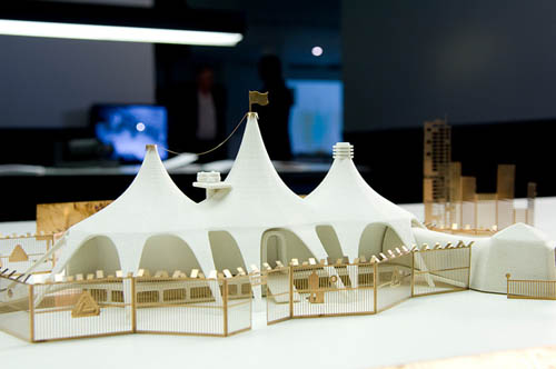 [Image The circus tent of infinitely flexible temporary production from u201cFabulous Fabbersu201d by David Benqué produced in collaboration with 3D ... & Fabrication u2013 BLDGBLOG