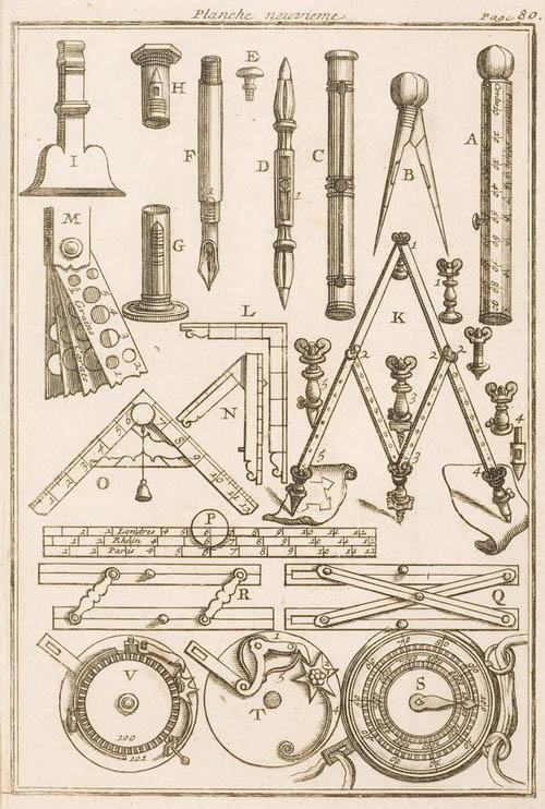 Architecture Drawing Instruments Image From The To Inspiration