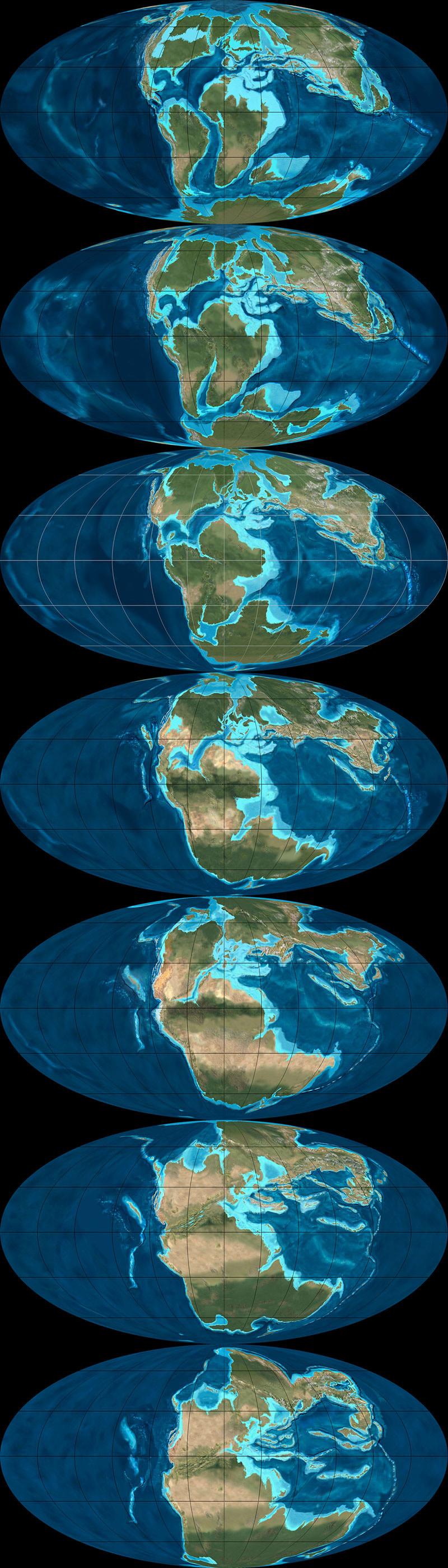 Future Earth Map Continental Drift | www.imgkid.com - The ...