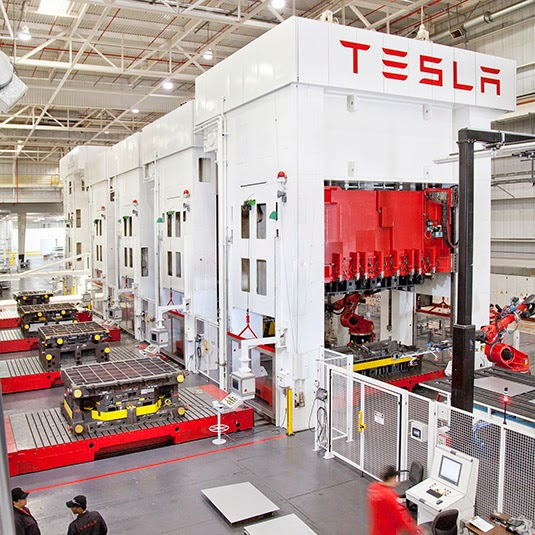 Amongst the Machines: A Visit to the Tesla Factory – BLDGBLOG